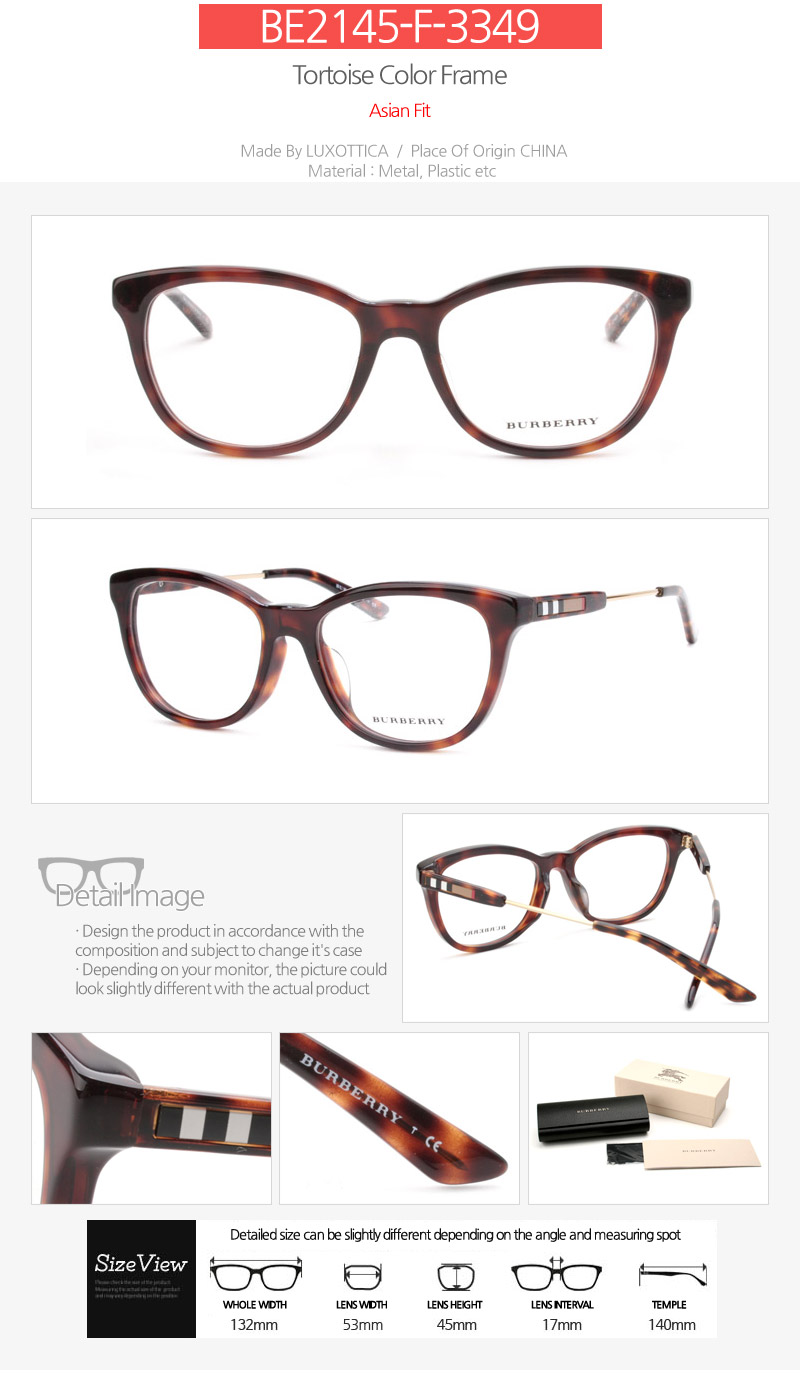 Burberry Glasses Frames Singapore : BURBERRY Glasses Frames 47 Design / Free delivery / Frames ...